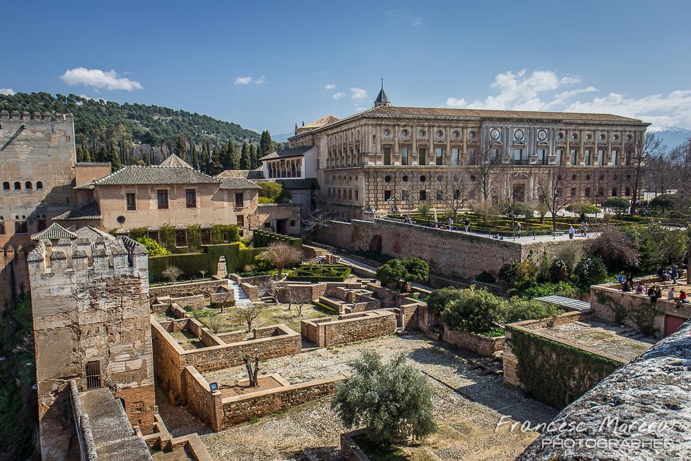 La alhambra for Decoracion jardin granada